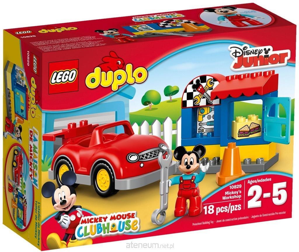 Hurtownia Książek Ateneum Lego Duplo 10829 Warsztat Myszki Miki